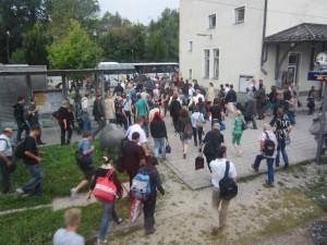 Schienenersatzverkehr der Südostbayernbahn Schwindegg- Mühldorf- August 2012