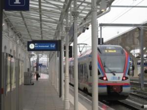 sie wird noch lange auf sich Warten lassen: Die Salzburger S- Bahn nach Freilassing