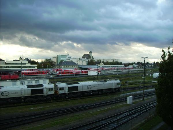1% des Gesamtdeutschen Güterverkehrs passiert den Bahnhof Mühldorf