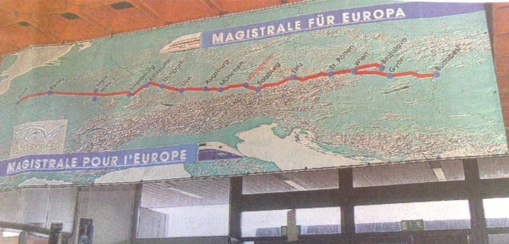 """die """"Magistrale"""" für Europa"""