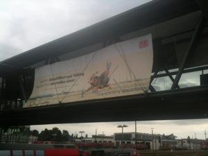 Ausbau- Ankündigung zum Spatenstich Altmühldorf- Tüßling