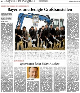 Bayerns unerledigte Großbaustellen