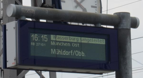 Altstadtbahn Wasserburg am Inn - Filzenexpress