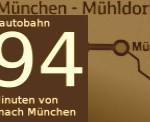 In 45 Minuten von Mühldorf nach München City - mit der A94