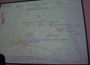 Im Bundesverkehrsministerium im Jahr 2010: Pläne des Bahnknoten Münchens werden Besuchergruppen erläutert