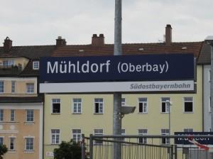 Die Südostbayernbahn - das gallische Deutsche Bahn- Dorf am Inn