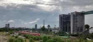 Bahnverkehr in den Osten (Rosenheim/ Italien/ Balkan, Mühldorf und die jeweiligen S- Bahnen: Der S-Bahn Bahnhof Leuchtenbergring in München
