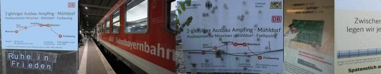 Ausbau München – Mühldorf – Freilassing